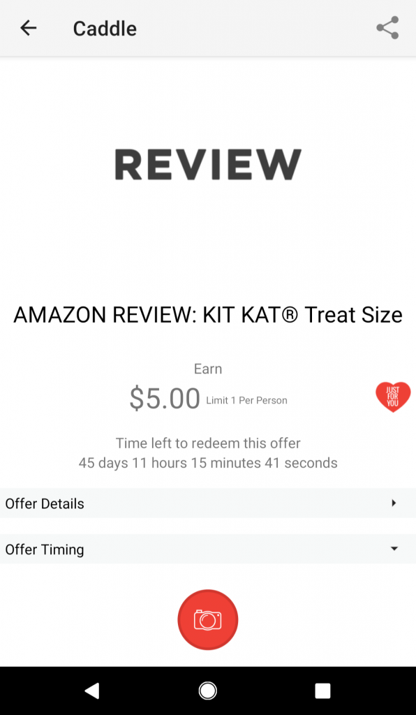 Amazon review bonus cashback