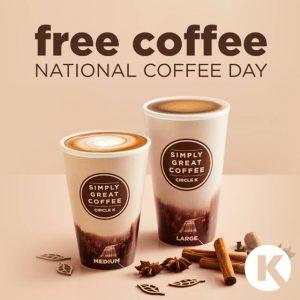 National Coffee Day freebie 2